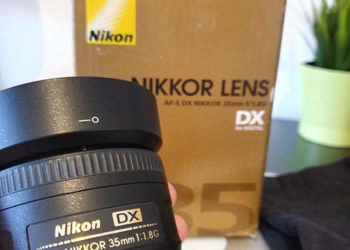Nikkor 35mm 1.8G AF-S  DX - 1