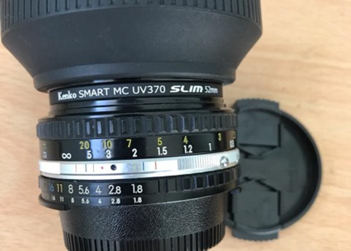 Nikkor 50mm f1.8 - 1