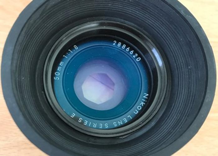 Nikkor 50mm f1.8 - 2