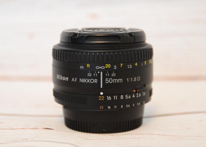 Nikkor 50mm F/1.8 D - 2