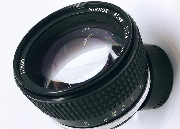 Nikkor 85mm f/1.4 Ais Prime Lens - 1