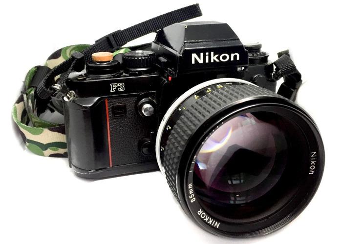 Nikkor 85mm f/1.4 Ais Prime Lens - 2