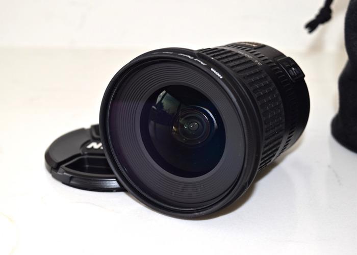 Nikkor AF-S 10-24mm lens - 1