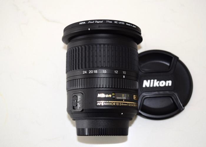 Nikkor AF-S 10-24mm lens - 2