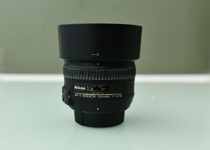 Nikkor AF-S 50mm 1.4G - 1