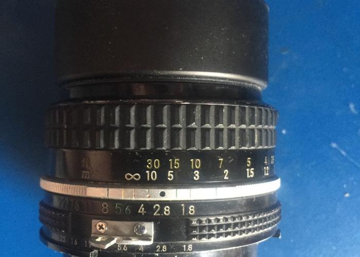 Nikkor AI 1.8 manual lens - 1
