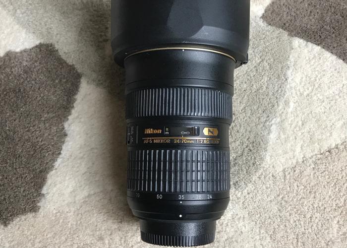 Nikon AFS 24-70mm 2.8G Lens - 1