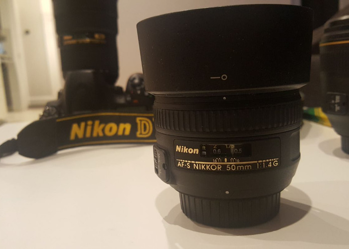 Nikon - Nikkor 50mm f1.4G Prime Lens - 2