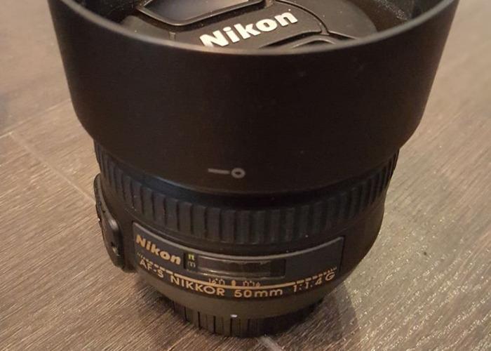 Nikon - Nikkor 50mm f1.4G Prime Lens - 1