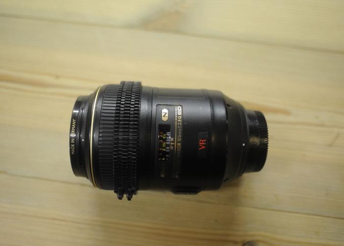 Nikon 105 VR Macro (with Cine Gear) - 2