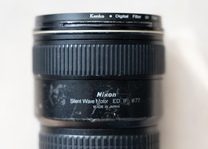 Nikon 17mm-35mm f2.8 AF-S ED Wide Angle Zoom Lens - 1