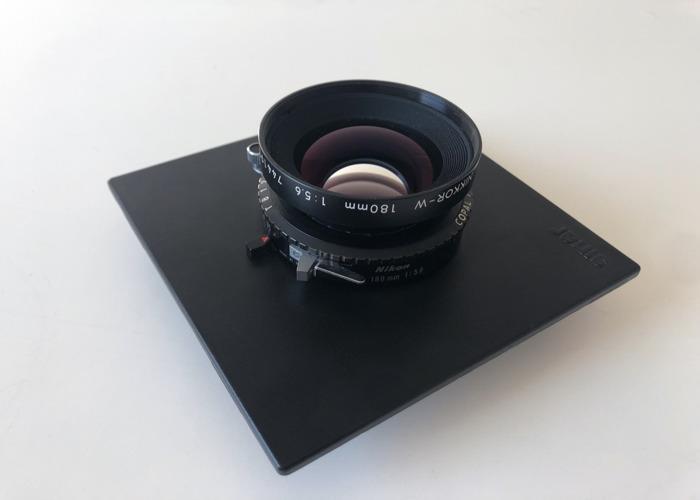 Nikon 180mm F5.6 Copal 4x5 Large Format Lens - 1