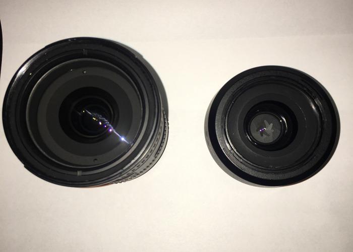 Nikon 18-200 , nikon 35mm 1.8G - 2