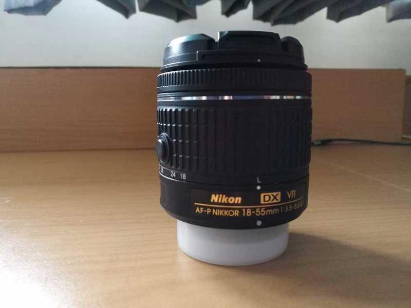 Nikon 18-55mm f/3.5-5.6G VR AF-P - 1
