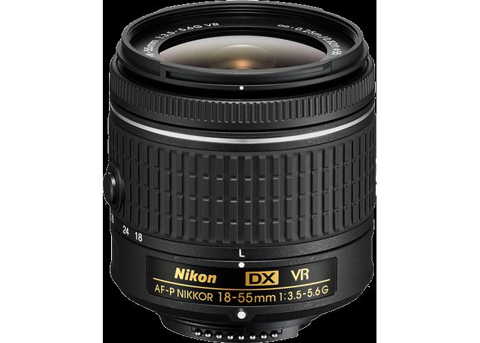 Nikon 18-55mm f3.5-5.6G VR AF-P DX NIKKOR Lens - 1