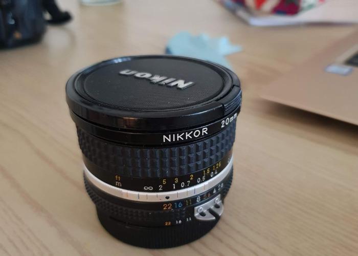 Nikon 20mm 2.8D Lens - 1