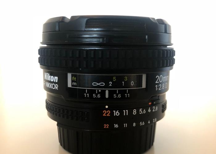Nikon 20mm f2.8 - 2