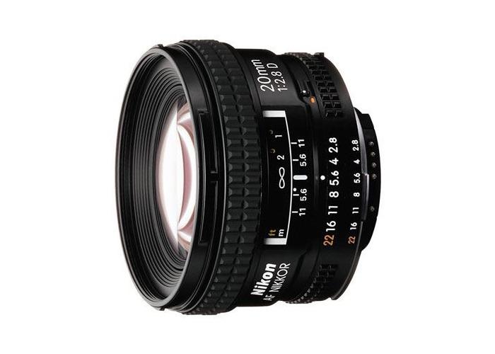Nikon 20mm f2.8 D AF Lens - 1