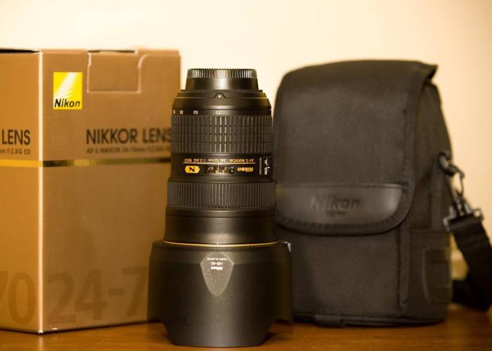 Nikon 24-70mm f2.8l Lens - 1