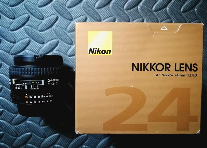 Nikon 24mm 2.8D - 1