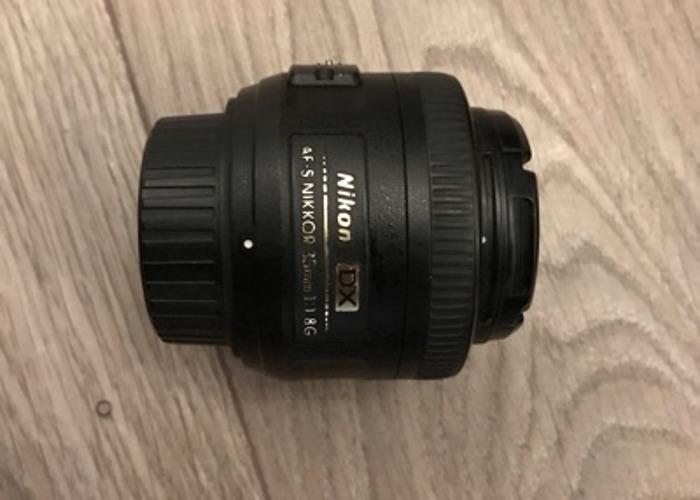 Nikon 35 mm/F 1.8 AF-S G NIKKOR DX-35 mm Lens - 1