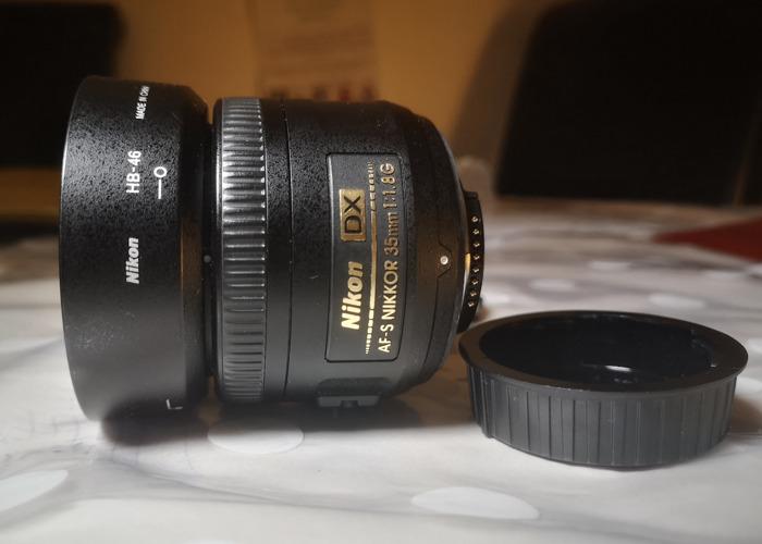 Nikon 35mm f1.8G lens  - 2