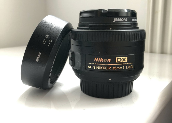 Nikon 35mm f1.8 lens DX - 1