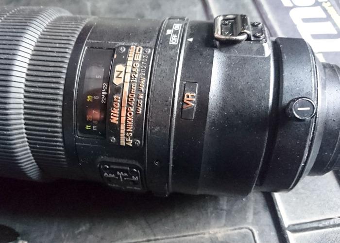 Nikon 400 f2.8 VR Supertelephoto Lens - 2