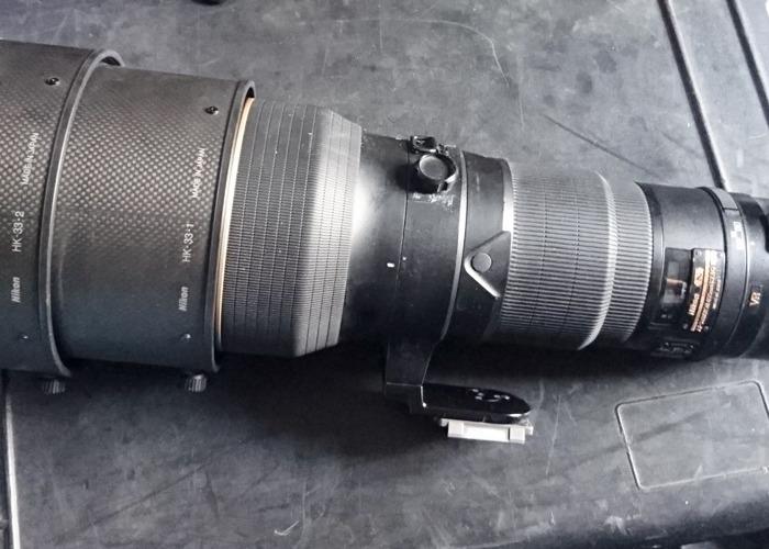 Nikon 400 f2.8 VR Supertelephoto Lens - 1