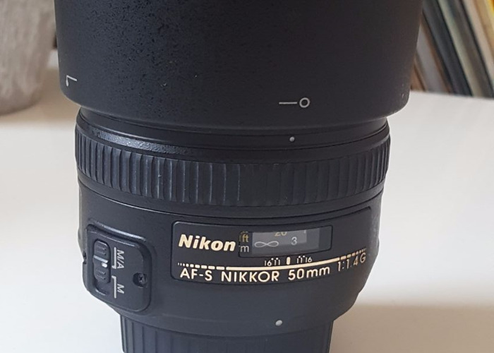 Nikon 50 mm F1.4G AF-S Nikkor Lens - 2