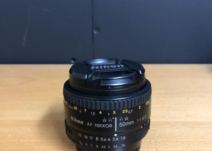 Nikon 50mm 1.8D - 1