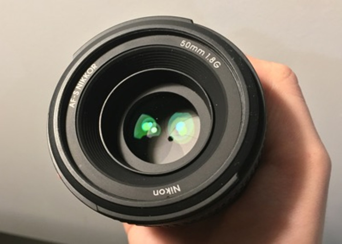 Nikon 50mm 1.8g  - 2