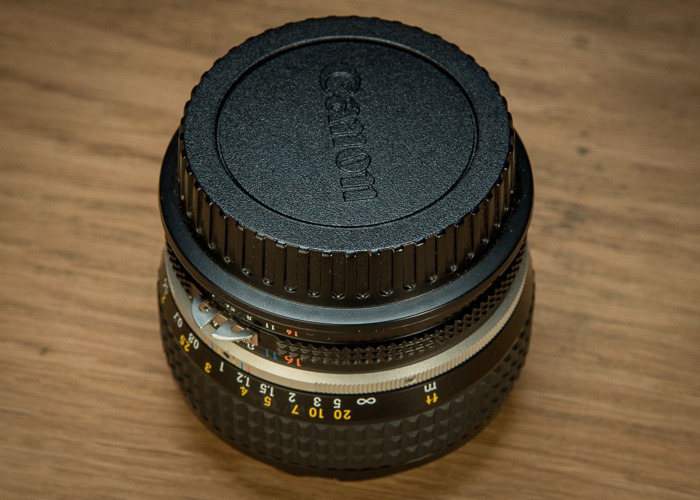 Nikon 50mm f1.2 Lens (with optional Canon EF mount) - 2