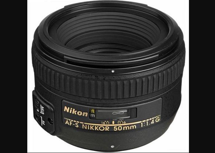 Nikon 50mm F1.4 Lens - 1
