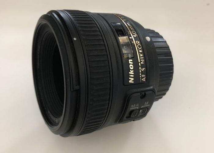 Nikon 50mm f1.8 AF-S - 1