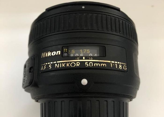 Nikon 50mm f1.8 AF-S - 2