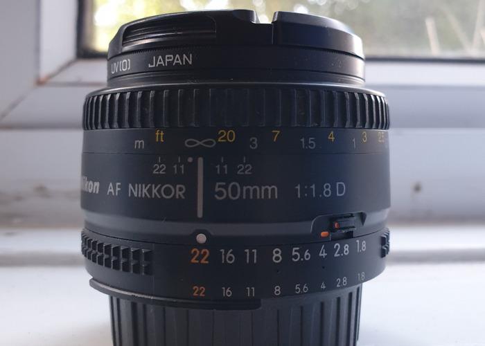 Nikon 50mm f1.8 D  - 1