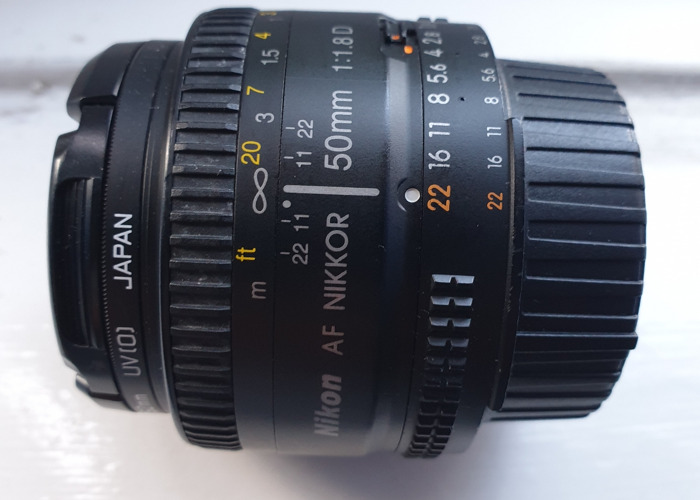 Nikon 50mm f1.8 D  - 2