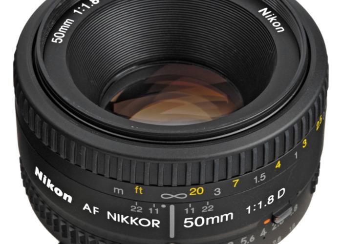 Nikon 50mm manual focus lens - 1