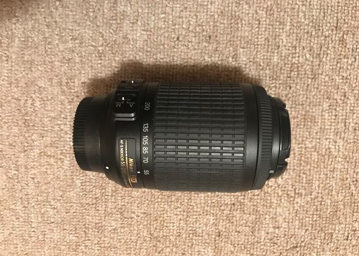 Nikon 55-200mm Lens - 1
