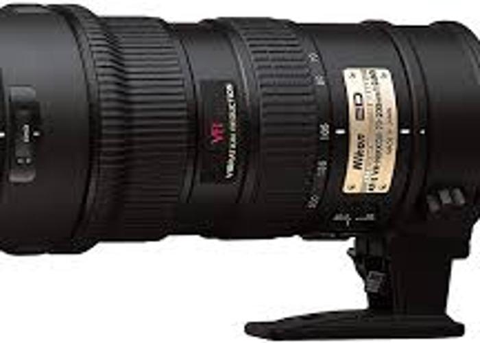Nikon 70-200 - 1