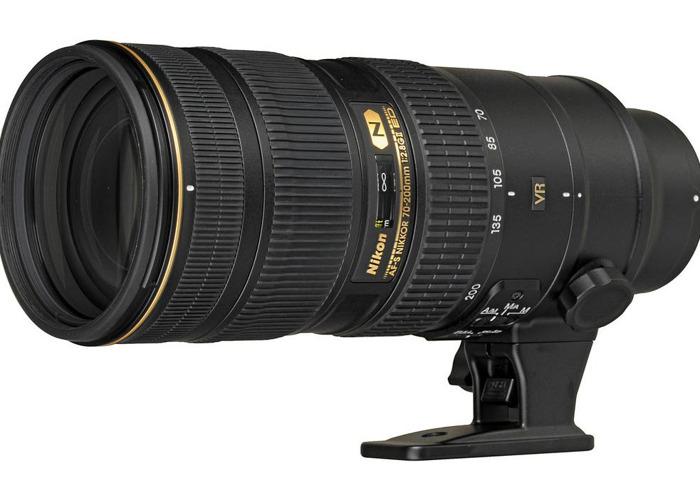 Nikon 70-200mm f2.8G VRII - 1
