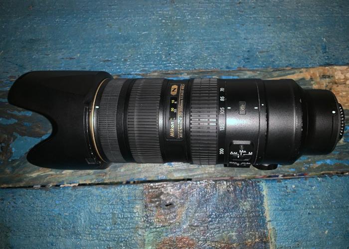 Nikon 70-200mm f2.8G VRII - 2
