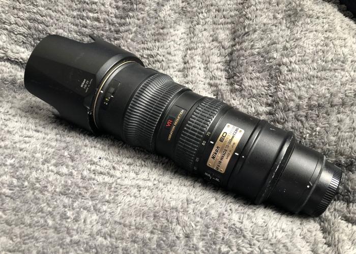 Nikon 70-200mm VR - 1