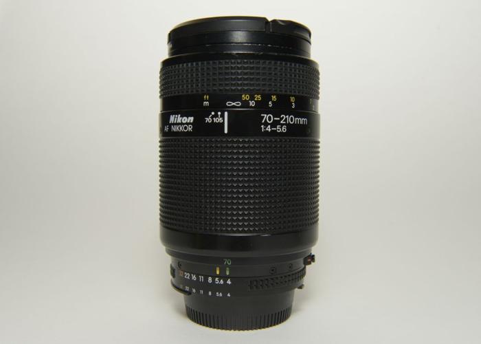 Nikon 70-210mm f4-5.6 D AF Nikkor lens - 1