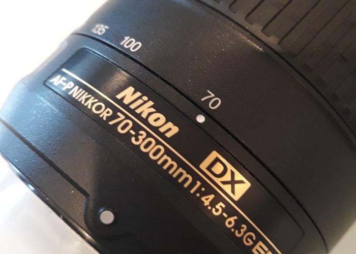Nikon 70-300mm 4.5-6.3 Zoom Lens - 2
