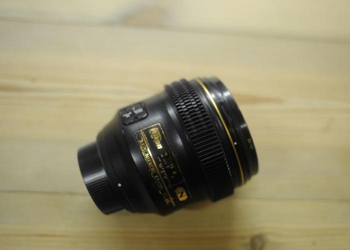Nikon 85mm F1.4G AF (Cine gear modified) - 1
