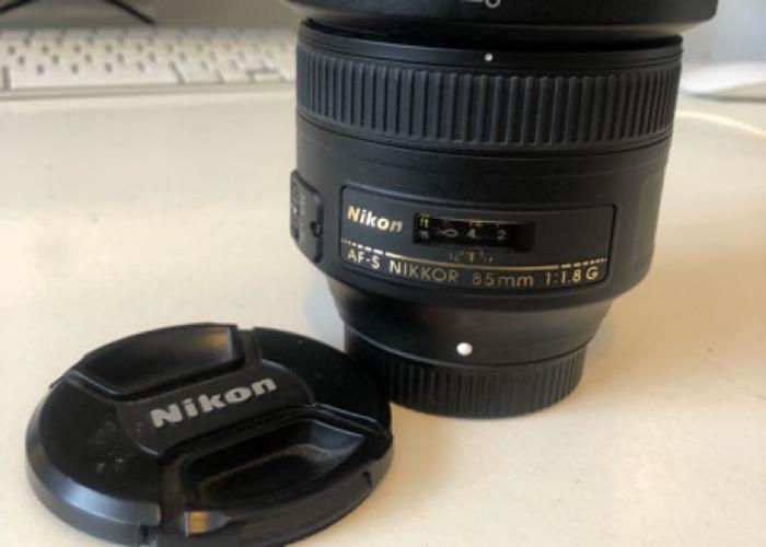 Nikon 85mm F1.8 - 1