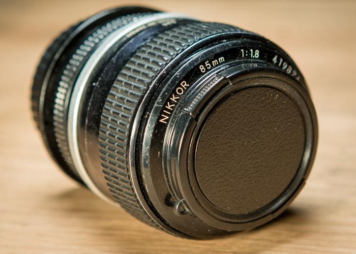 Nikon 85mm f1.8 Lens - 2
