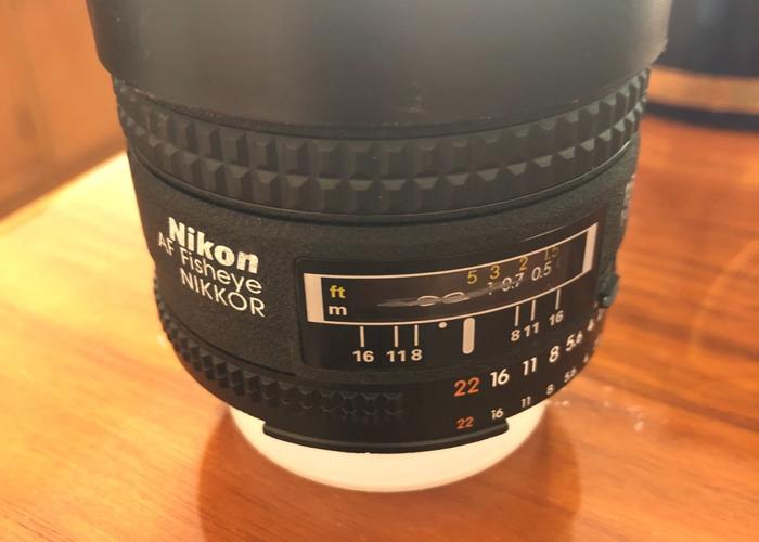 Nikon AF Fisheye Nikkor lens - 1